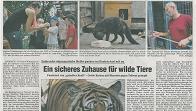01. September 2012 (FLZ): Ein sicheres Zuhause für wilde Tiere